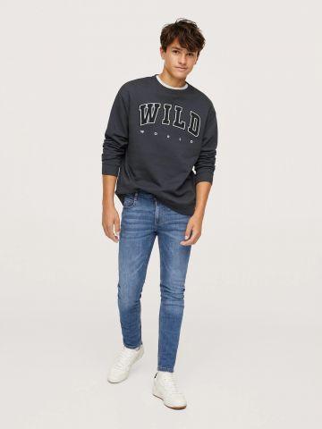ג'ינס בגזרת סקיני / TEEN של MANGO