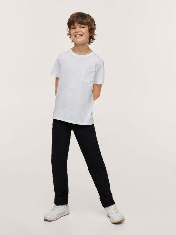 ג'ינס ארוך עם כיסים של MANGO