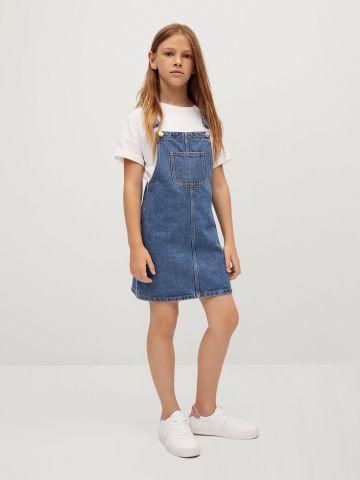 שמלת ג'ינס עם כיס של MANGO