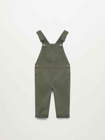 אוברול ג'ינס עם כיסים / 9M-4Y של MANGO