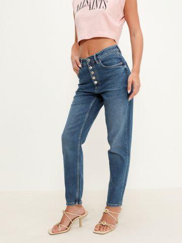 ג'ינס סטרץ' בגזרת Slim-Fit של ALL SAINTS