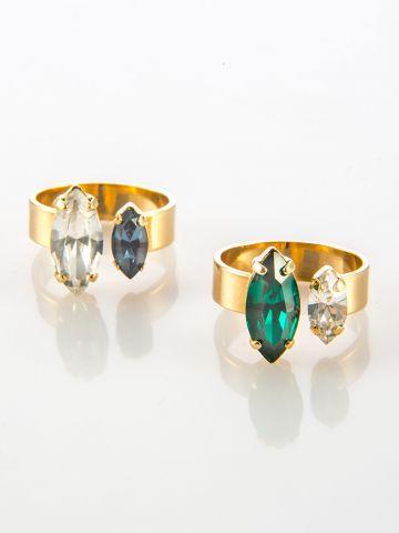 טבעת פאר זהב של SK - SHANI KALAY