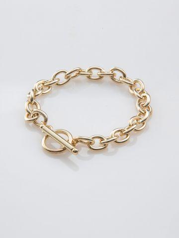 צמיד חוליות זהב של SK - SHANI KALAY