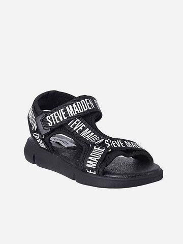 סנדלים עם רצועה בשילוב לוגו רץ / בנות של STEVE MADDEN