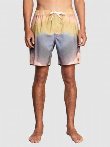 מכנסי בגד ים בהדפס של RVCA
