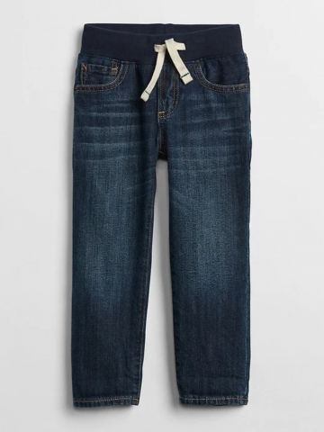 ג'ינס Slim עם גומי / 12M-5Y של GAP