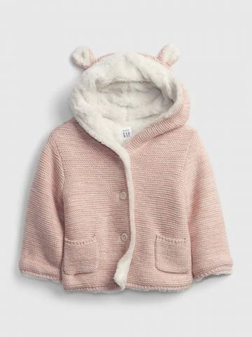 סוודר בשילוב כובע עם אוזניים / 0-24M של GAP
