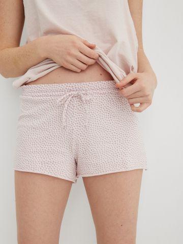 מכנסיים פיג'מה קצרים בהדפס נקודות / נשים של AERIE