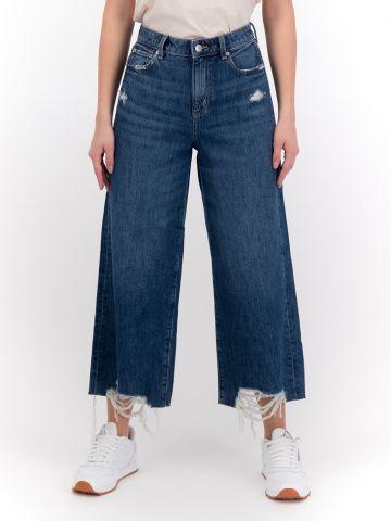 מכנסי ג'ינס 7/8 בגזרת קרופ Extra Fit של AMERICAN EAGLE