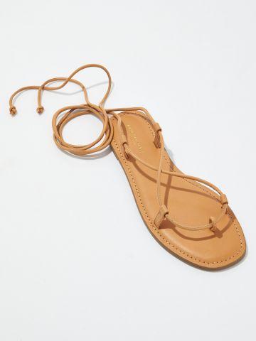 סנדלים בשילוב שרוכים / נשים של AMERICAN EAGLE