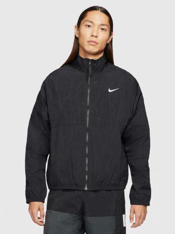 ג'קט ניילון עם צווארון גבוה Nike Basketball Jacket של NIKE