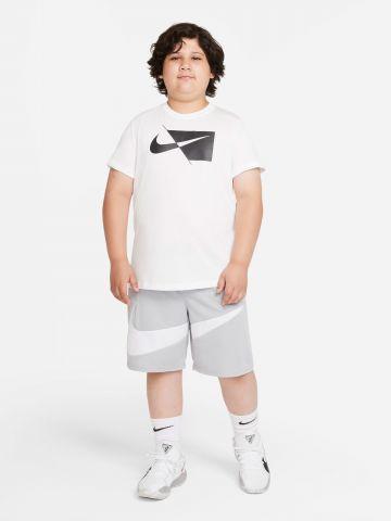 מכנסי כדורסל קצרים Dri-FIT עם הדפס מותג של NIKE