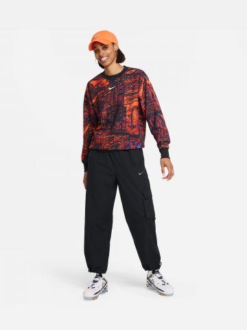 סווטשירט בהדפס Sportswear Women's Dance Fleece Crew של NIKE