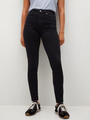 ג'ינס סקיני גזרה גבוהה של MANGO