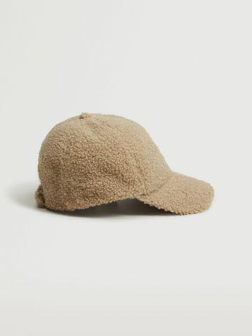 כובע מצחייה דמוי צמר / נשים של MANGO