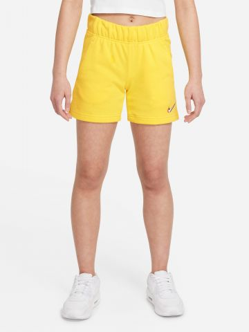 מכנסיים קצרים עם הדפס מותג / בנות של NIKE