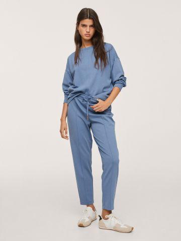מכנסיים ארוכים בסגנון טרנינג של MANGO
