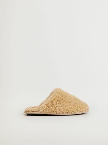 נעלי בית דמוי צמר / נשים של MANGO