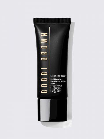 מייקאפ פודרה נוזלי SPF20 Skin Long Wear Fluid Powder Foundation SPF 20 של BOBBI BROWN
