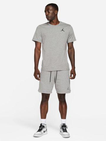 מכנסי טרנינג קצרים עם רקמת לוגו JORDAN JUMPMAN של NIKE