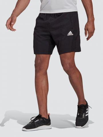 מכנסי אימון קצרים עם לוגו / גברים של ADIDAS Performance
