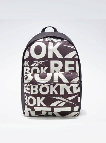 תיק גב עם הדפס לוגו של REEBOK