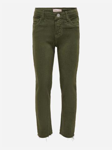 מכנסי ג'ינס עם סיומת גזורה / TEEN של KIDS ONLY