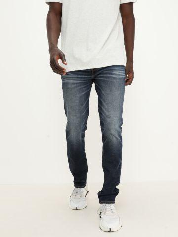 ג'ינס בשילוב שפשופים Slim של AMERICAN EAGLE
