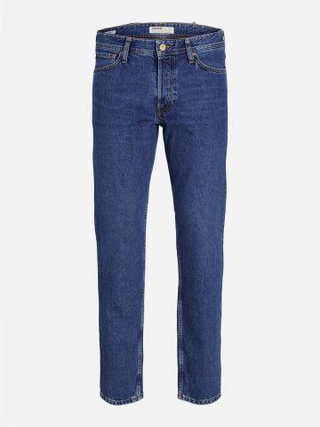 מכנסי ג'ינס בשטיפה כהה / גברים של JACK AND JONES