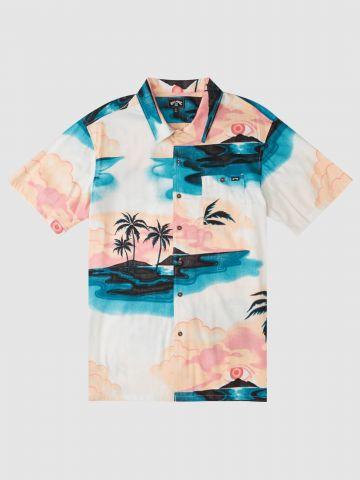 חולצה מכופתרת בהדפס דקלים / גברים של BILLABONG