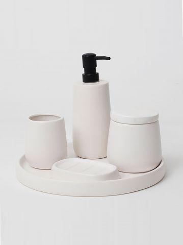 סט אמבטיה מעוצב 7 חלקים של TERMINAL X HOME