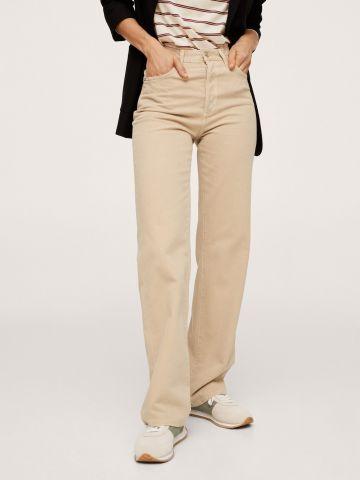 ג'ינס ארוך בגזרה ישרה של MANGO