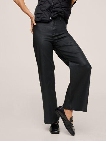 ג'ינס מאט ארוך ורחב של MANGO