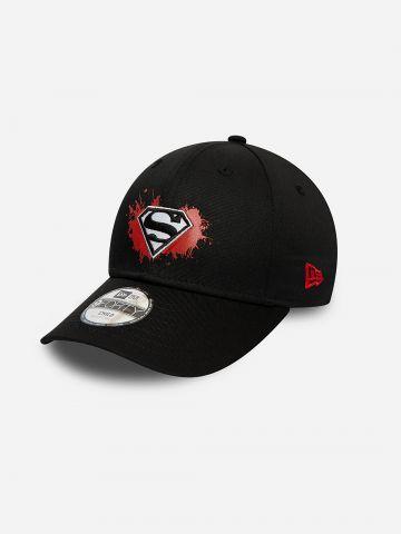 כובע מצחייה עם פאץ' סופרמן / בנים של NEW ERA
