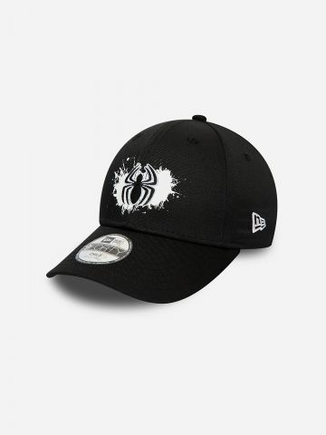 כובע מצחייה עם פאץ' עכביש / בנים של NEW ERA