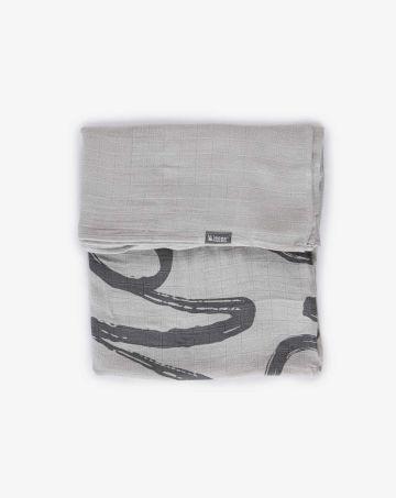 שמיכת במבוק עם הדפס / בייבי של MINENE