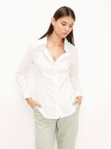 חולצה מכופתרת Slim Fit של TERMINAL X