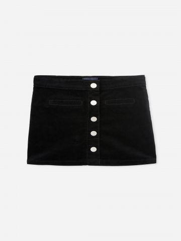 חצאית מיני עם כפתורים / בנות של THE CHILDREN'S PLACE