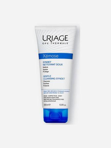 ג'ל רחצה לעור יבש ומגורה מאוד Xemose Gentle Cleansing Syndet של URIAGE