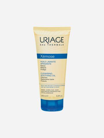 שמן רחצה מרגיע לעור יבש Xemose Cleansing Soothing Oil של URIAGE