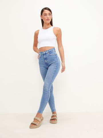 ג'ינס סקיני בגזרה גבוהה של TOMMY HILFIGER