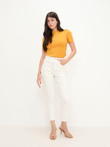 ג'ינס בגזרה גבוהה של YANGA