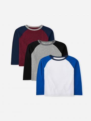 מארז 3 חולצות טי שירט / בנים של THE CHILDREN'S PLACE