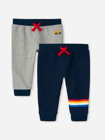 מארז 2 זוגות מכנסי טרנינג / 6M-5Y של THE CHILDREN'S PLACE