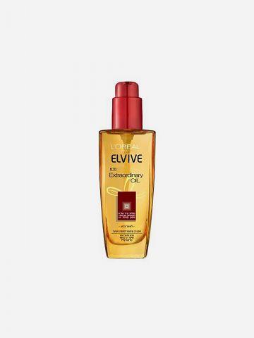 שמן טיפוח לשיער יבש וצבוע Elvive Extraordinary Oils של ELVIVE