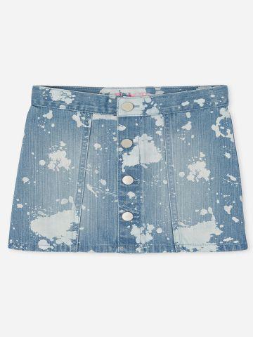חצאית ג'ינס ווש / בנות של THE CHILDREN'S PLACE
