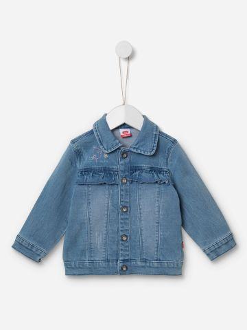 ג'קט ג'ינס בשילוב מלמלה / 18M-5Y של SHILAV