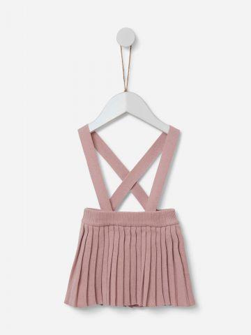 חצאית בשילוב שלייקס / 0-18Y של SHILAV