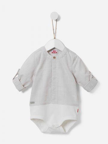 בגד גוף בסגנון חולצה מכופתרת / N.B-2Y של SHILAV