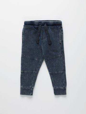 מכנסי טרנינג עם תיפורים מודגשים / 6M-5Y של THE CHILDREN'S PLACE